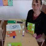 Участие родителей в акции Открытка Участникам трудового фронта